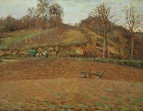 Camille Pissarro: Gepflügte Erde