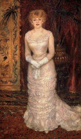Auguste Renoir: Portrait von Jeanne Samary