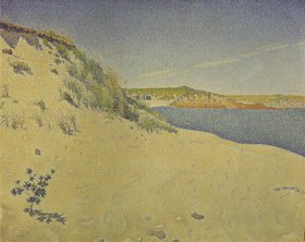 Paul Signac: Strand und Dünen in St. Bri