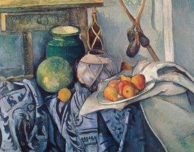 Paul Cézanne: Obststillleben mit Krügen und Flasche