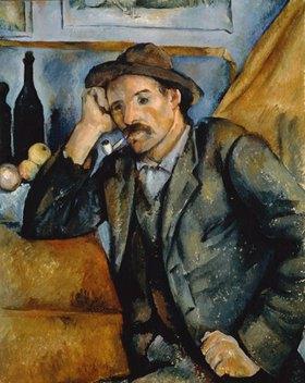Paul Cézanne: Pfeifenraucher