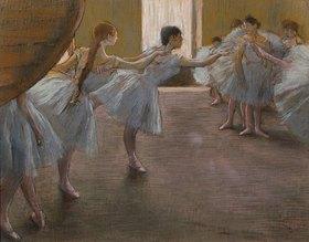 Edgar Degas: Ballett-Übungen