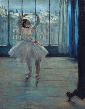 Edgar Degas: Tänzerin im Atelier
