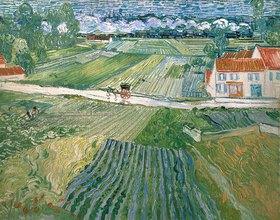 Vincent van Gogh: Landschaft bei Auvers nach dem Regen