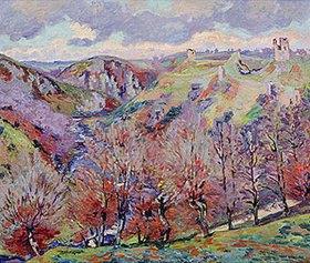 Jean-Baptiste Armand Guillaumin: Landschaft mit Ruinen