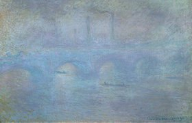 Claude Monet: Die Waterloo-Brücke im Dunst