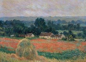 Claude Monet: Heuhaufen in Sommerlandschaft bei Giverny