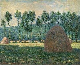 Claude Monet: Heuhaufen bei Giverny