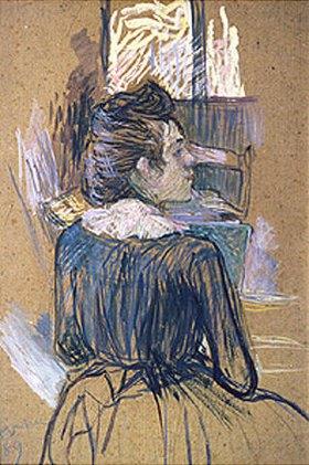 Henri de Toulouse-Lautrec: Frau vor einem Fenster