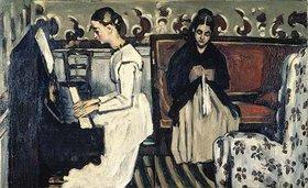 Paul Cézanne: Die Tannhäuser-Ouvertüre (Mädchen am Klavier)