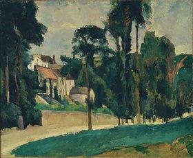 Paul Cézanne: Weg in Pontoise
