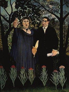 Henri Rousseau: Der Poet und seine Muse (G. Apollinaire und M. Laurencin)