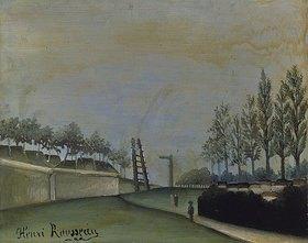 Henri Rousseau: Blick von der Porte de Vanves, Paris