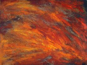 Annette Bartusch-Goger: Element Feuer (Regenwald)