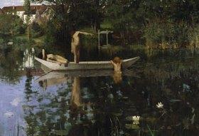 William Stott: Der Badeplatz