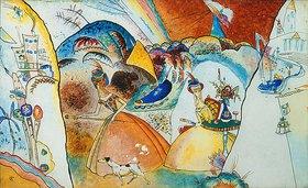Wassily Kandinsky: Damen in Reifröcken