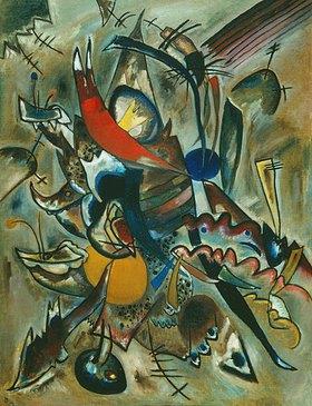Wassily Kandinsky: Komposition Nr. 223 (Bild mit Spitzen)
