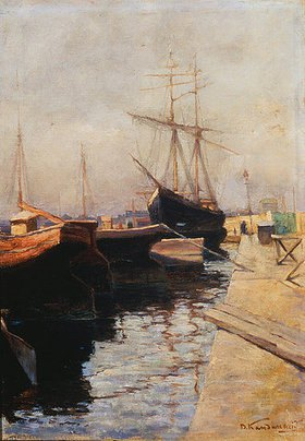Wassily Kandinsky: Hafen von Odessa
