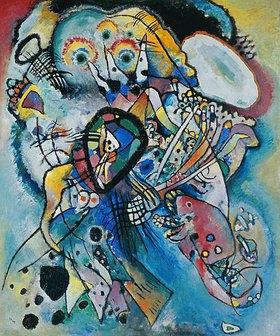 Wassily Kandinsky: Komposition Nr. 218 (Zwei Ovale)