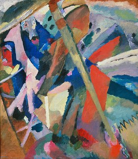 Wassily Kandinsky: Der Heilige Georg