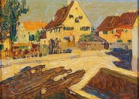 Wassily Kandinsky: Umgebung von Augsburg