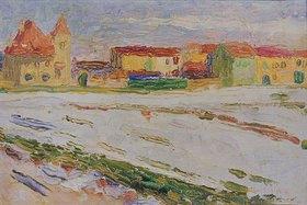 Wassily Kandinsky: Stadtrand von München