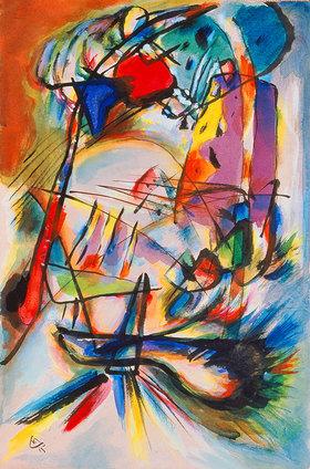 Wassily Kandinsky: Komposition Zwecklos