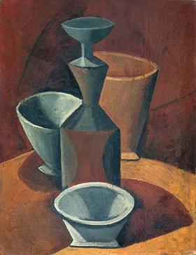 Pablo Picasso: Kanne und Schalen