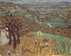 Pierre Bonnard: Landschaft im Dauphiné