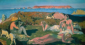 Maurice Denis: Am grünen Strand (Perros-Guirec)