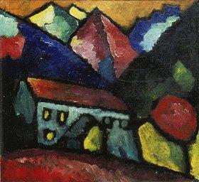 Alexej von Jawlensky: Haus im Gebirge