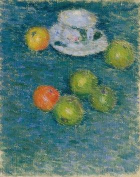 Alexej von Jawlensky: Äpfel und Tasse
