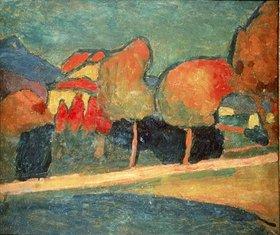 Alexej von Jawlensky: Murnauer Landschaft