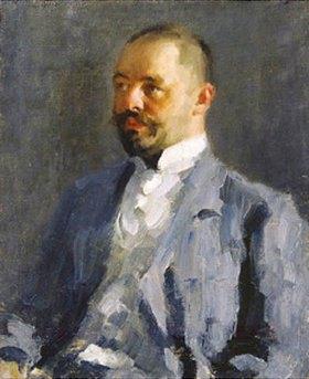 Alexej von Jawlensky: Bildnis von Dimitrij, dem Bruder des Künstlers