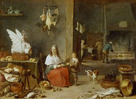 David Teniers: Küchen-Inneres
