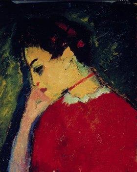 Alexej von Jawlensky: Frauenbildnis