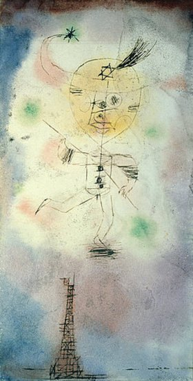 Paul Klee: Komet über Paris
