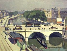 Albert Marquet: Pont-S.Michel und Quai des Grands Augustins in Paris