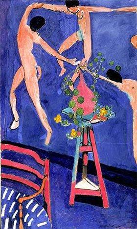 """Henri Matisse: Kapuzinerkresse vor dem Bild """"Der Tanz"""""""