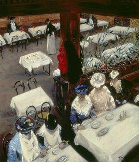 Alfred Henry Maurer: Damen im Café