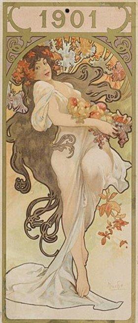 Alfons Mucha: Kalenderblatt