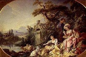 François Boucher: Das Vogelnest (Charmes de la vie Champetre)