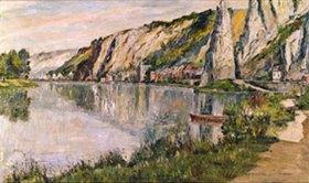 Pierre Thevenet: Flusslandschaft mit Felsen (Bayard)