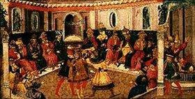 Giovanni di Tommaso: Die Ermorderung Julius Caesar's