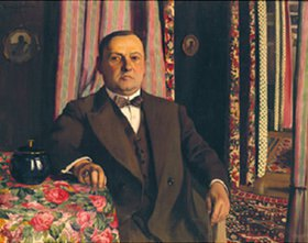 Felix Vallotton: Bild des Gemäldesammlers G.E.Haasen