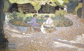 Edouard Vuillard: Damen im Garten