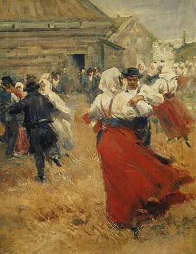 Anders Leonard Zorn: Tanz in einem Dorf