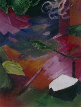 Franz Marc: Reh im Wald I