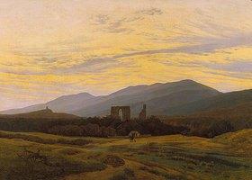 Caspar David Friedrich: Die Ruine Eldena im Riesengebirge