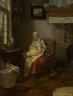 Gerrit Zegelaar: Stillende Mutter